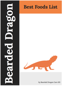 List of Best Foods for a Bearded Dragon PDF